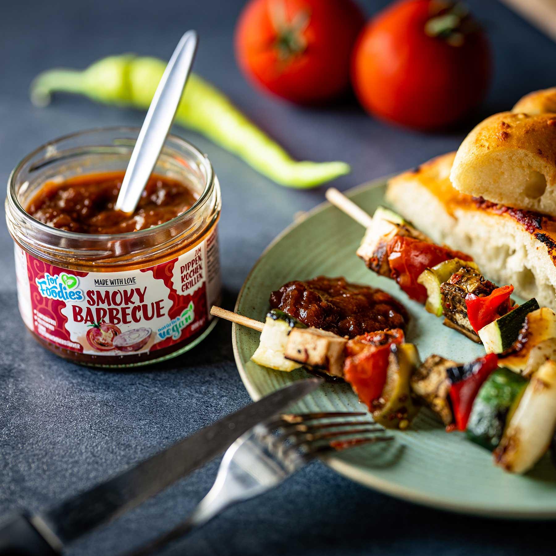 Vegane Grillspieße bei denen selbst Opa der Tofu schmeckt